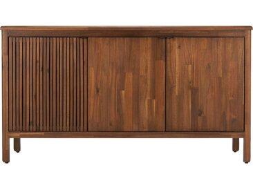 Meuble Sous Vasque Cabinet 3 Portes En Acacia - alinea