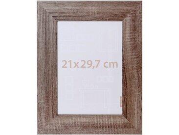 Cadre photo effet chêne 21x29.7cm - alinea