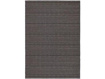 Tapis d'extérieur à motifs noir 160x230 cm - alinea