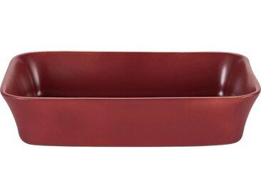 Plat À Four Rectangulaire En Grès Rouge Sumac 26x18cm - alinea