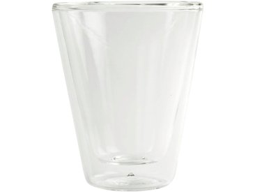 Lot de 2 tasses en verre transparent 8,5cl - alinea