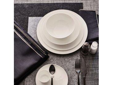 Lot de 2 sets de table en feutrine noir 30x45cm (prix unitaire : 2.0 euros) - alinea