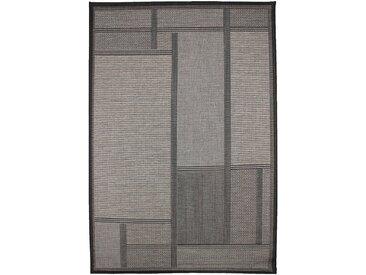 Tapis intérieur et extérieur gris foncé 160x230cm - alinea
