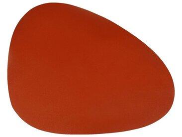 Lot de 2 sets de table en caoutchouc rouge 30,5x39cm (prix unitaire : 3.5 euros) - alinea