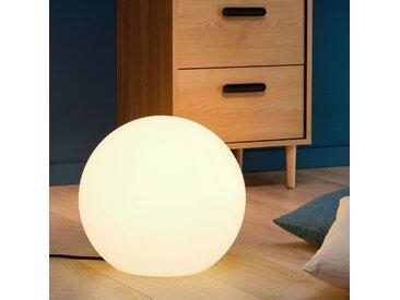 Boule lumineuse blanche intérieur extérieur D40cm - alinea