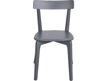 Lot de 2 chaise en bois - gris restanque (prix unitaire : 79.0 euros) - alinea
