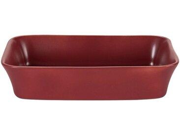 Plat à four rectangulaire en grès rouge sumac 32x20cm - alinea