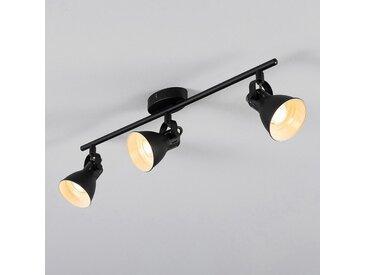 Barre de 3 spots LED L59,50xH6,50cm - noir - alinea