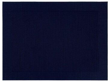 Lot de 2 sets de table en polyvinyle bleu calabrun 36x48cm (prix unitaire : 2.6 euros) - alinea