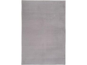 Tapis imitation fourrure gris restanque 150x200cm - alinea