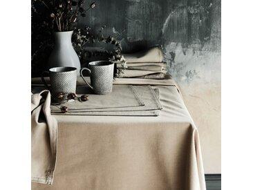 Lot de 2 sets de table en coton vert olivier 30x45cm (prix unitaire : 2.0 euros) - alinea