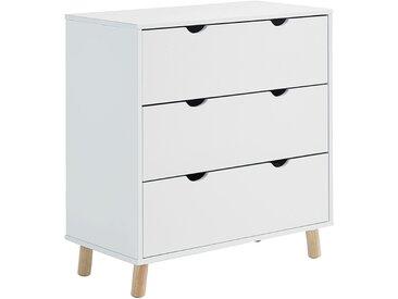 Commode 3 tiroirs Blanc Alinéa