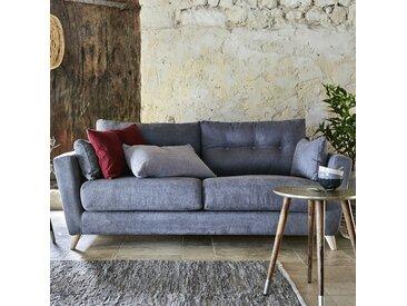 Canapé 3 places convertible en tissu gris - alinea