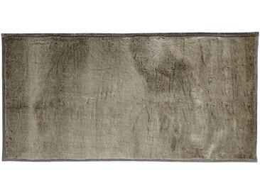 Tapis imitation fourrure - gris foncé 60x120cm - alinea