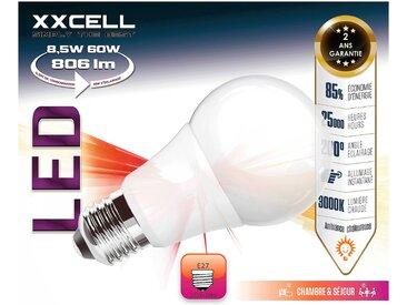 Lot de 2 ampoules LED D6cm culot E27 blanc chaud Alinéa