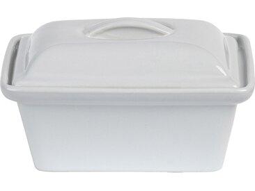 Terrine En Grès Blanc Rectangulaire 16x11cm 0,45cl - alinea