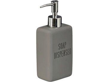 Distributeur de savon gris anthracite Alinéa