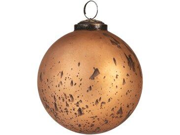 Boule de Noël en verre cuivre D10cm - alinea