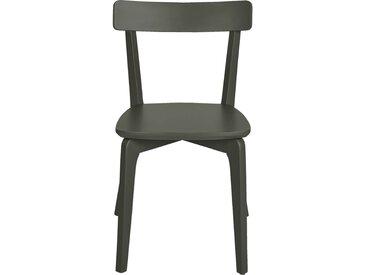 Lot de 2 chaise en bois - vert cèdre (prix unitaire : 79.0 euros) - alinea