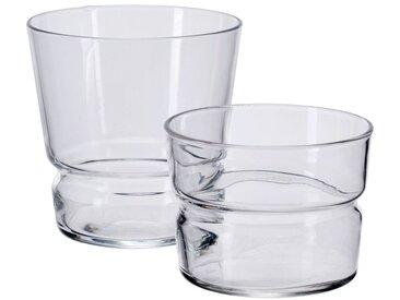 Lot de 6 verre transparent en verre 22cl (prix unitaire : 1.5 euros) - alinea