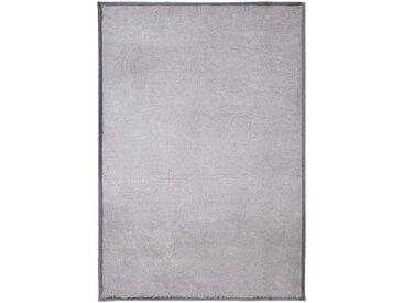 Tapis en fausse fourrure - gris clair 120x170cm - alinea