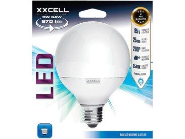 Ampoule LED D9,5cm blanc froid culot E27 Alinéa