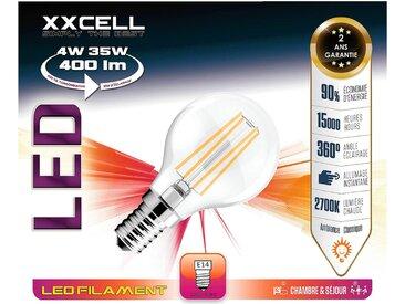 Ampoule LED D4,5cm blanc chaud culot E14 Alinéa