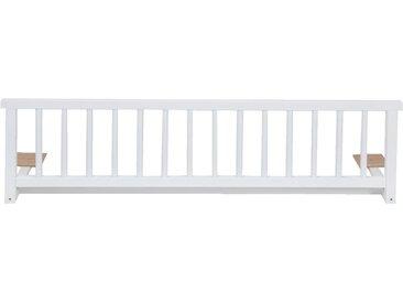 Barrière de lit universelle en hêtre massif Blanc - alinea