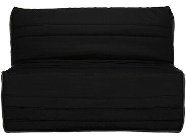 Housse pour BZ 140cm noire Alinéa