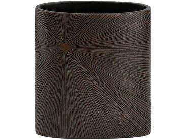 Vase en résine marron H24cm Alinéa