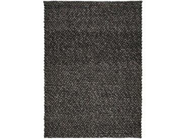 Tapis tressé gris foncé 160x230cm Alinéa
