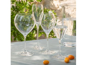 Lot de 6 verre à vin en cristallin 32cl (prix unitaire : 4.5 euros) - alinea