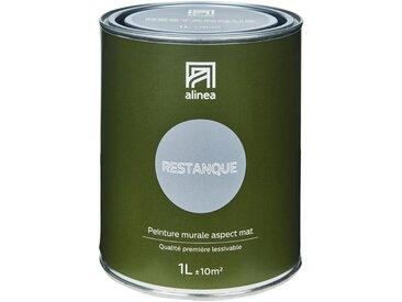 Peinture acrylique mate multi-supports 1L gris restanque Alinéa