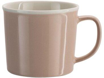 Lot de 2 mugs en porcelaine rose grège 35cl (prix unitaire : 3.0 euros) - alinea