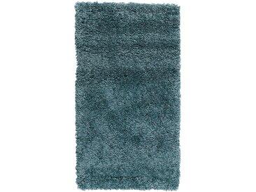Descente de lit coloris bleu 60x110cm Alinéa