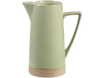 Pichet en grès - vert - 1,6L - alinea