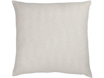 Coussin en coton blanc et doré 45x45cm Alinéa