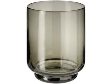 Lot de 6 gobelets en verre gris 33cl (prix unitaire : 6.0 euros) - alinea
