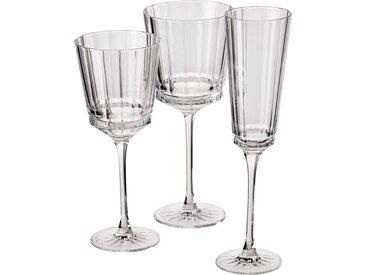 Lot de 6 verre à pied en cristallin 35cl (prix unitaire : 9.0 euros) - alinea