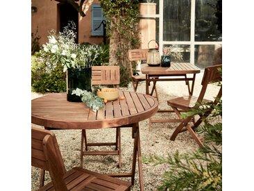 Table de jardin pliante en acacia (4 places) - alinea