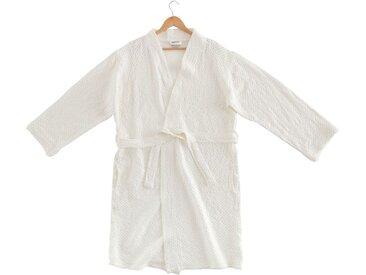 Peignoir en coton Blanc Ventoux - Plusieurs tailles - alinea