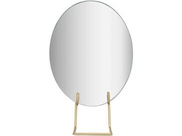 Miroir sur pieds en métal 15x23,5 cm Alinéa