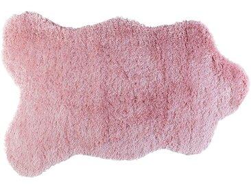 Tapis pour enfant peau de mouton rose Alinéa