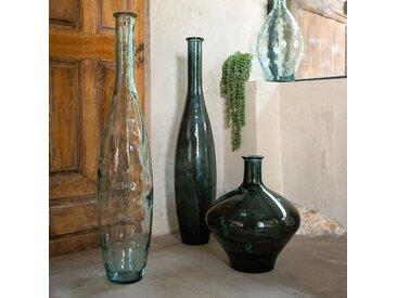 Vase en verre vert H46cm Alinéa