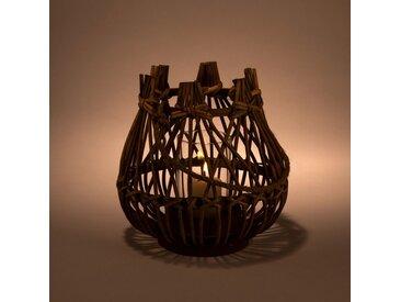 Lanterne en bambou D18xH19cm - alinea