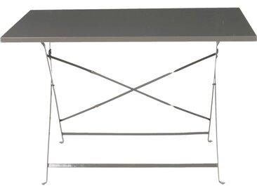 Table De Jardin Pliante Taupe L110cm (2 À 4 Places) - alinea