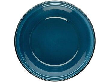 Tajine avec couvercle en faïence bleu figuerolles - alinea