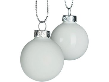 Lot de 16 boules en verre blanches D3,5cm - alinea