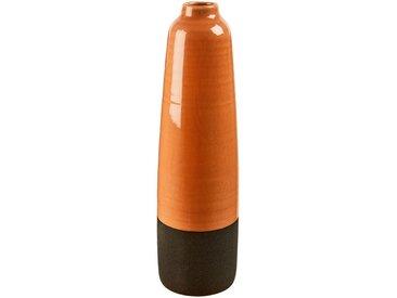 Vase en céramique orange H43.5 cm Alinéa