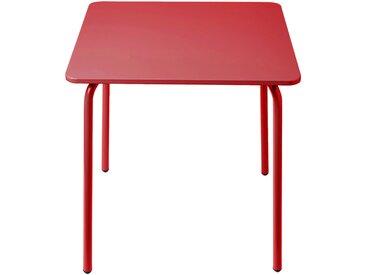 Table de jardin pour enfant rouge Alinéa